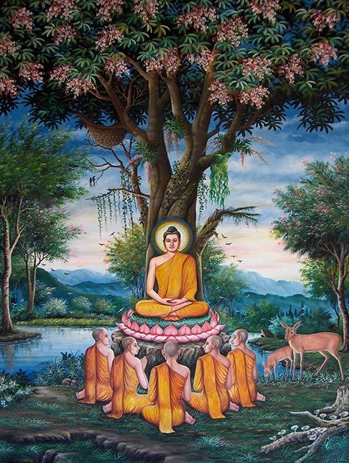 Premier enseignement du Bouddha